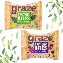 Graze Protein Flapjack Bites - 6 Pack