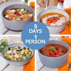 Clean Eating Soups For a Week - 5 Soups