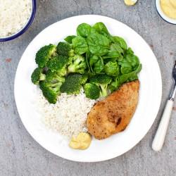 Crispy Chicken & Rice - 55g Protein