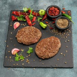 Lean Ostrich Steak Burgers - 113g