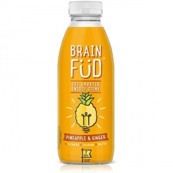 Summer Flavour - Brain Fud Energy Drink – 3 x Pineapple & Ginger