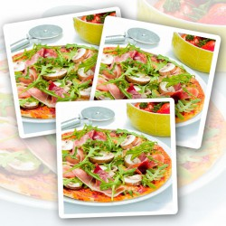 Ham & Mushroom High Protein Pizza - 3 Pack