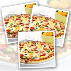 Hellevuur Kip Proteïne Pizza – Per 3 Verpakt