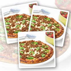 Kruidige Rundvlees & Jalapeno Proteïnepizza - Verpakking van 3