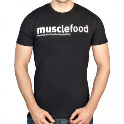 Muscle Food Fit T-Shirt - Black