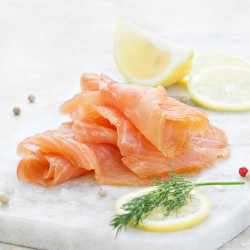 Sliced Smoked Salmon - 100g