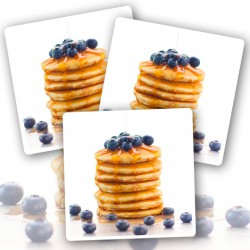 24 x Ready To Eat Blueberry Pancakes