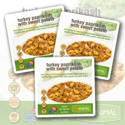 Turkey Paprikash with Sweet Potato - 6 Meals
