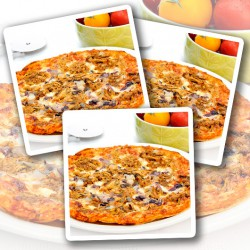Pulled Pork Eiwit Pizza - Verpakking van 3