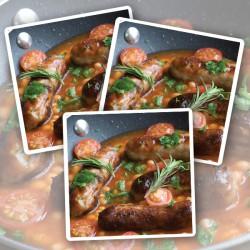 18 x Cumberland Sausages