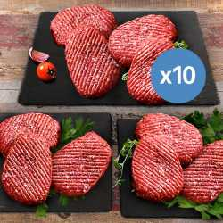 10 x 150g Hache Steaks