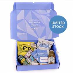 The Ultimate Mystery Snack Box, worth £25.00