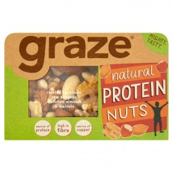 Graze Natural Protein Nuts - 37g