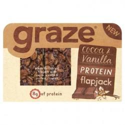 Graze Cocoa & Vanilla Protein Flapjack - 53g