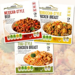 Protein Ready Meals (6) Variety Pack