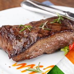 2 x 8-9oz Irish Grass Fed Sirloin Steaks