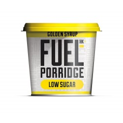 FUEL10K Low Sugar Golden Syrup Porridge Pot - 60g