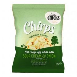 Sour Cream Egg White Crisps