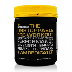 Dedicated Unstoppable Pre-Workout - 210g