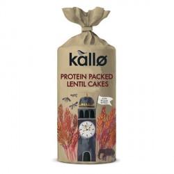 Kallo Protein-Packed Lentil Cakes - 100g