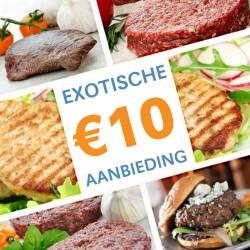 Exotische €10 Aanbieding