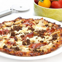 Balanced Mighty Meat Pizza