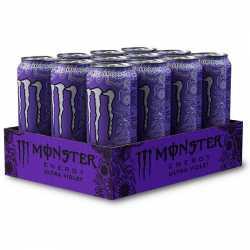 Monster Energy Ultra Violet - 12 x 500 ml