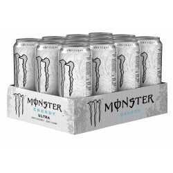 Monster Energy Ultra White - 12 x 500 ml
