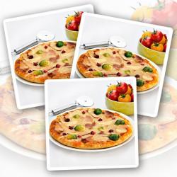 Kalkoen & Ham Eiwitrijke Pizza - Verpakking van 3