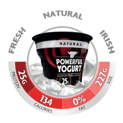 Powerful Yogurt Natural - 4 Pack