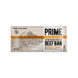 2 x Prime Beef bar Carrot & Apricot 50g