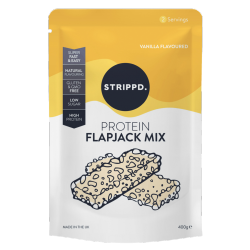 Strippd Protein Flapjack Mix Vanilla 400g