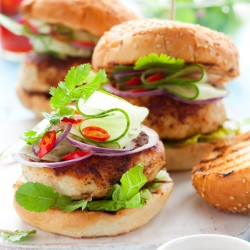 BBQ Chicken Burgers - 2 x 4oz