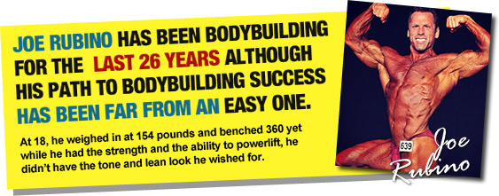 Joe Rubino - Body Builder