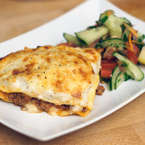 Healthy Macro Friendly Lasagne