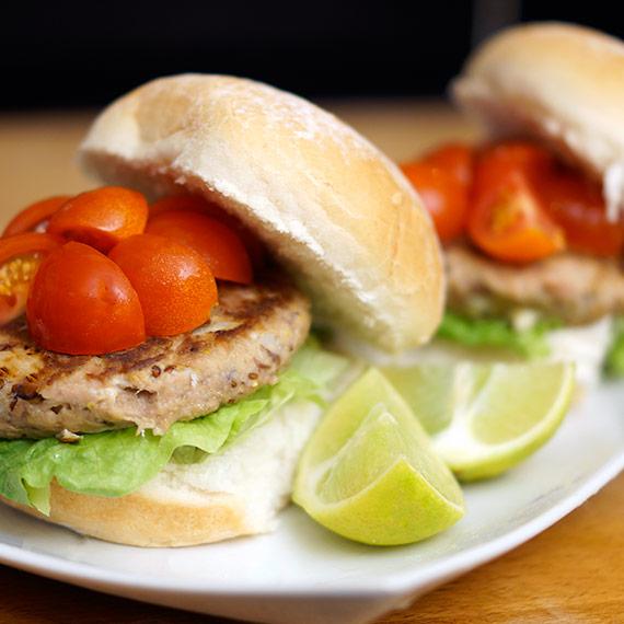 Super Lean Tuna Burgers