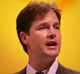 Nick Clegg - Liberal Democrats