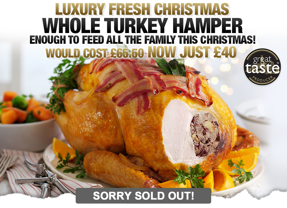 Luxury Family Whole Turkey Hamper