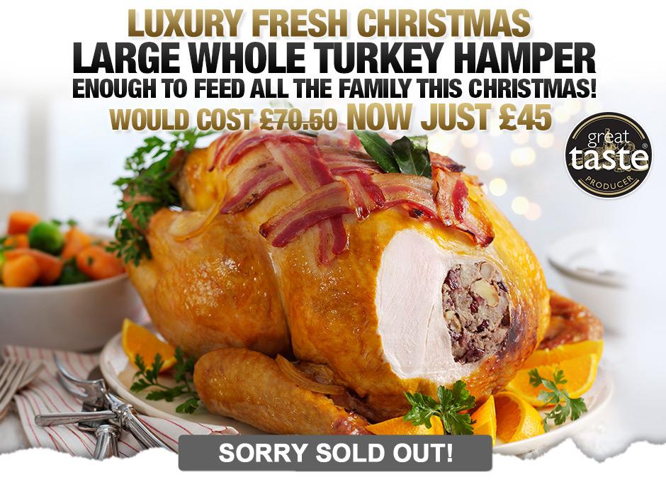 Luxury Family Whole Turkey Hamper