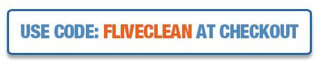 Use Code: FLEXLIVECLEAN at Checkout