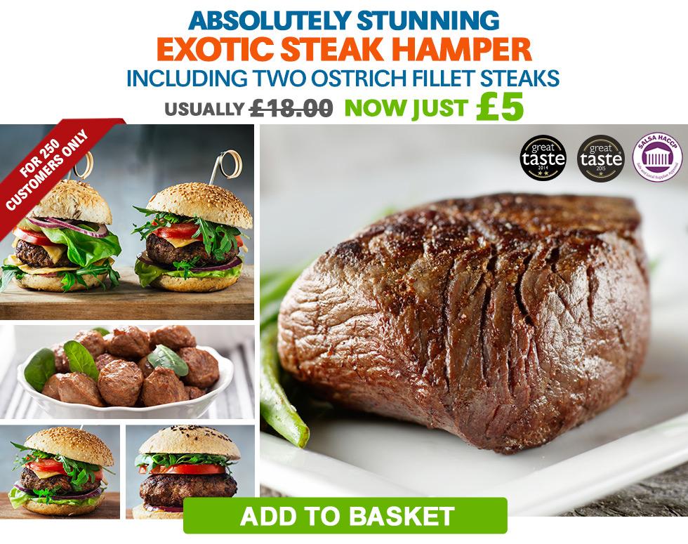 Exotic Steak Hamper