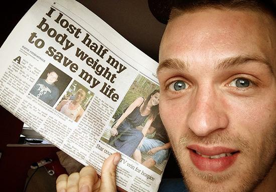 Darren Kelly - Newspaper article