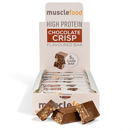 12 x 50g Low Carb Choc Crisp Bar