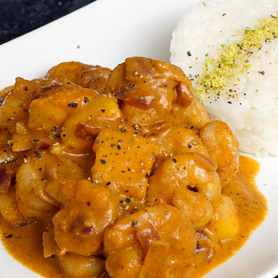 Prawn and Mango Curry