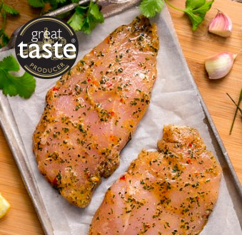 2 x 141g Chimichurri Chicken Steaks -2 x 5oz****DELISTED****