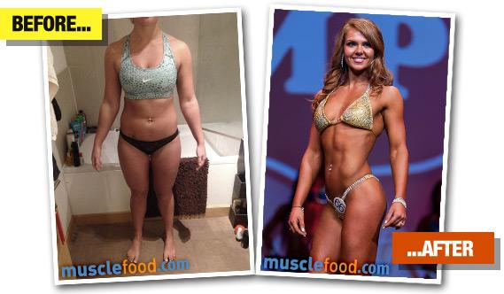 Jordan Saunders transformation - Before & After