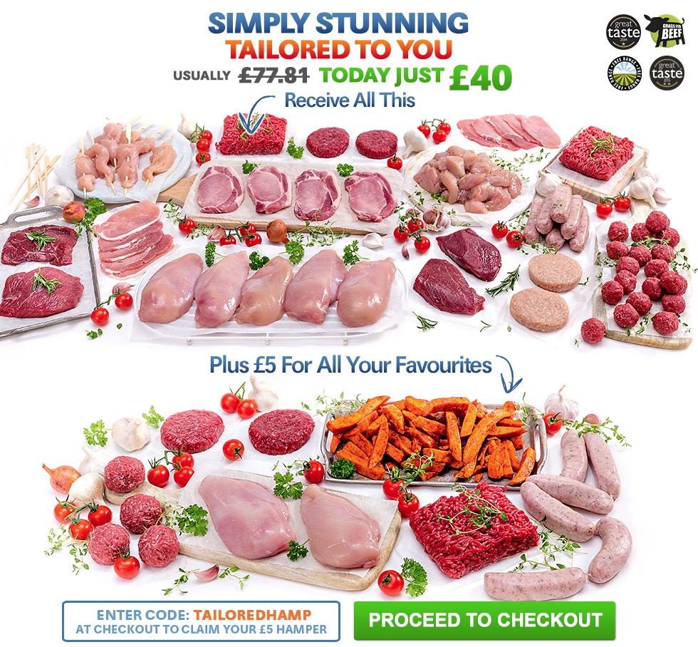 Aprils Summer Meat Selection