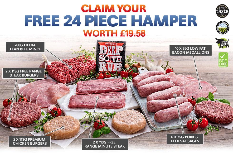 FREE 24 Piece Hamper