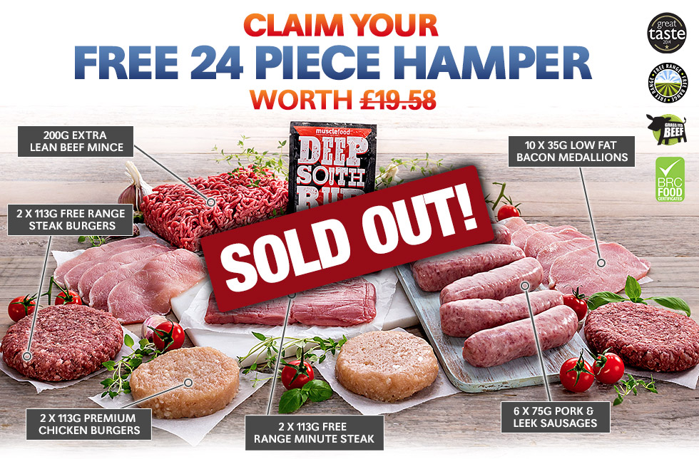FREE 24 Piece Hamper