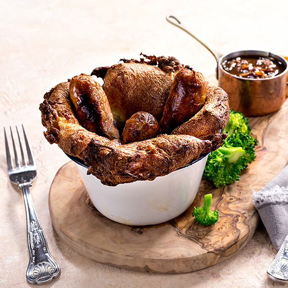 Low Fat Toad in the Hole